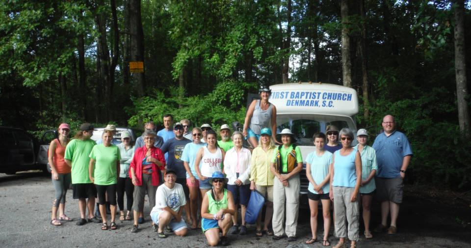 Paddle Board Trip Bamberg Chamber of Commerce South Carolina