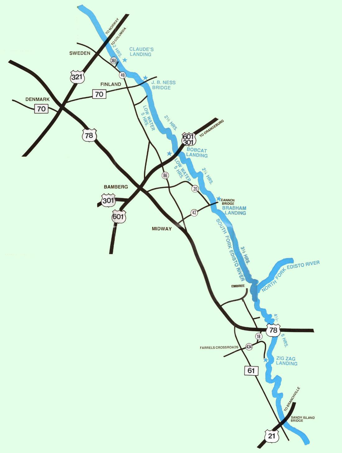 Edisto River Trips